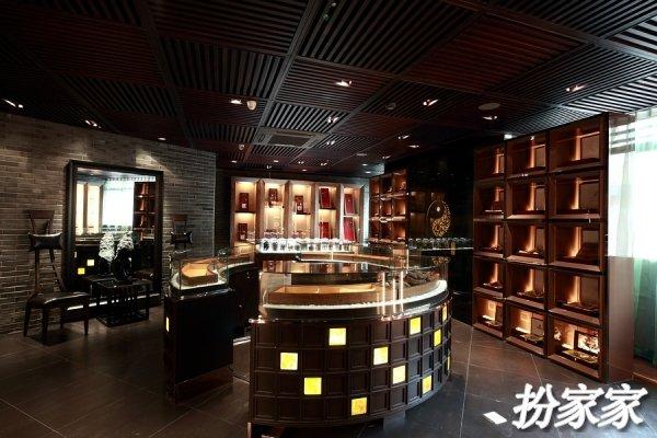 沉静古韵——上海某会所内新中式展厅