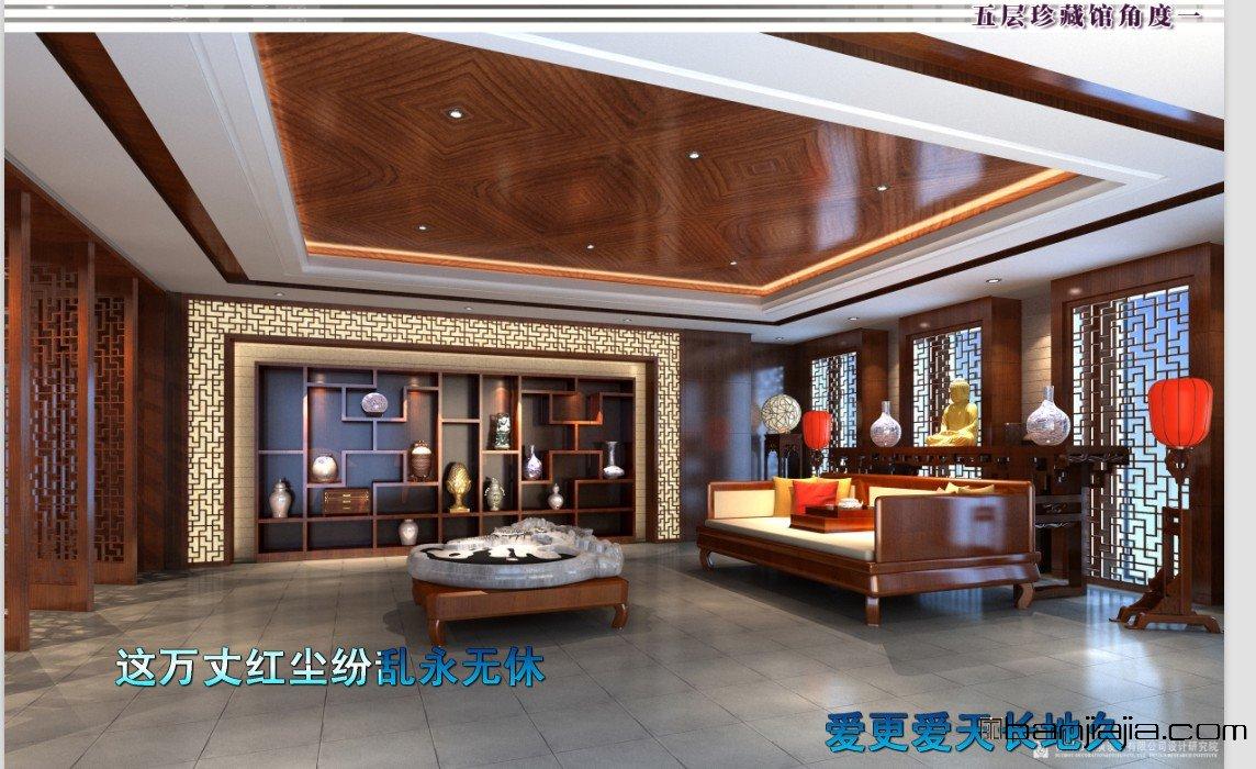 苏州豪华中式办公楼(带效果图) - 扮家家室内设计网
