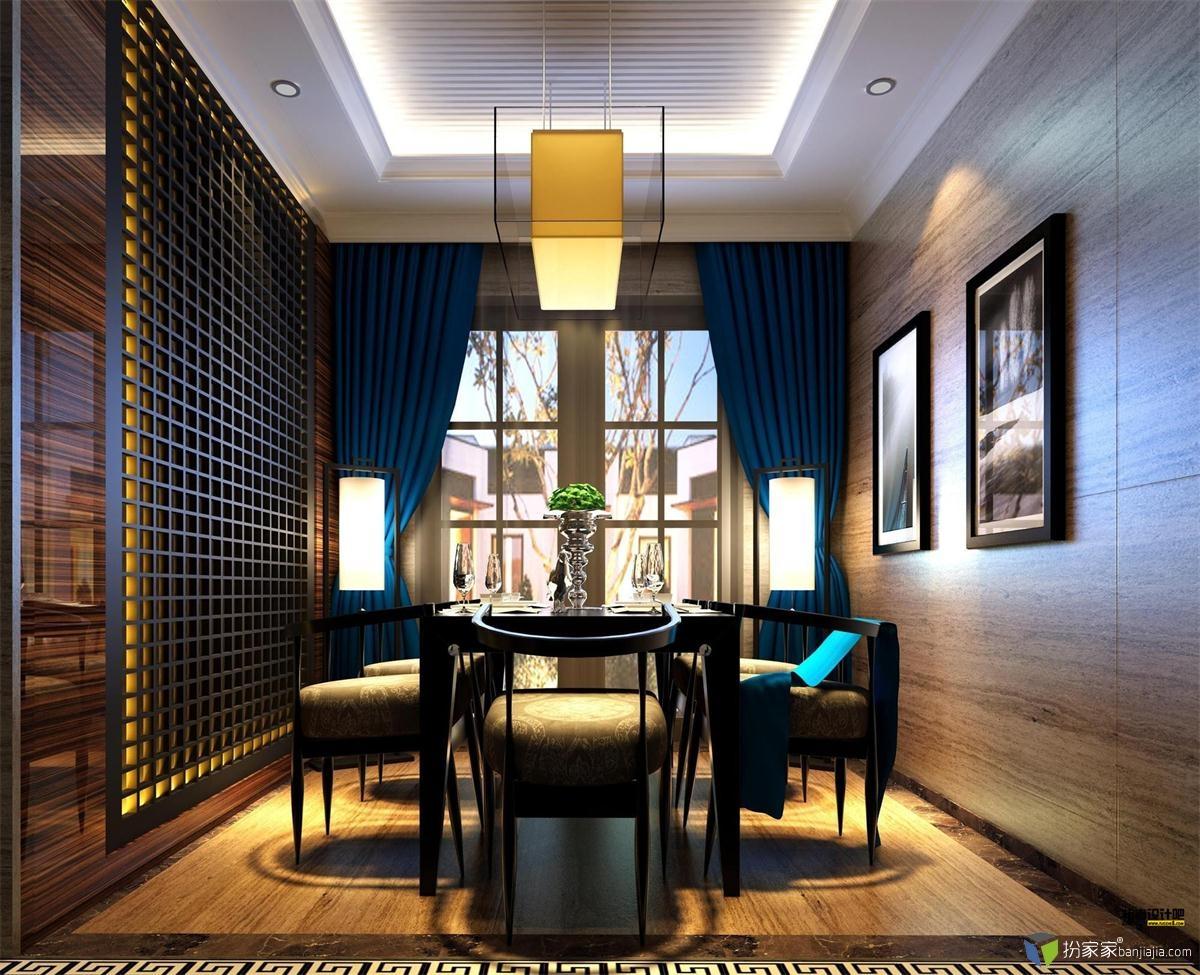 新中式风格客厅 - 扮家家室内设计网