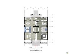 梁志天--大连天地别墅 V1A户型 深化设计方案