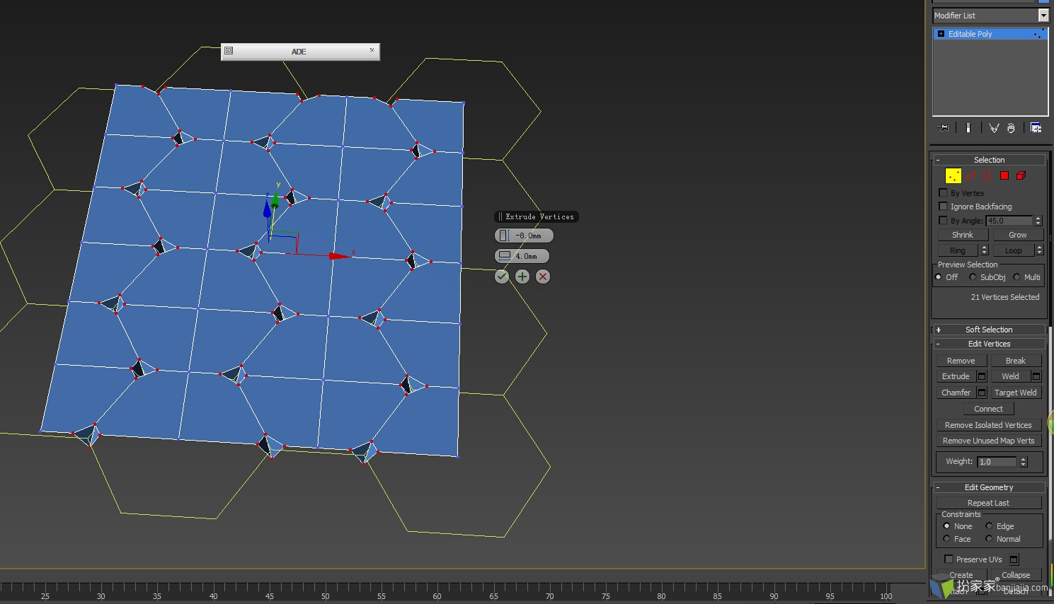 六边形软包教程 - 扮家家室内设计网
