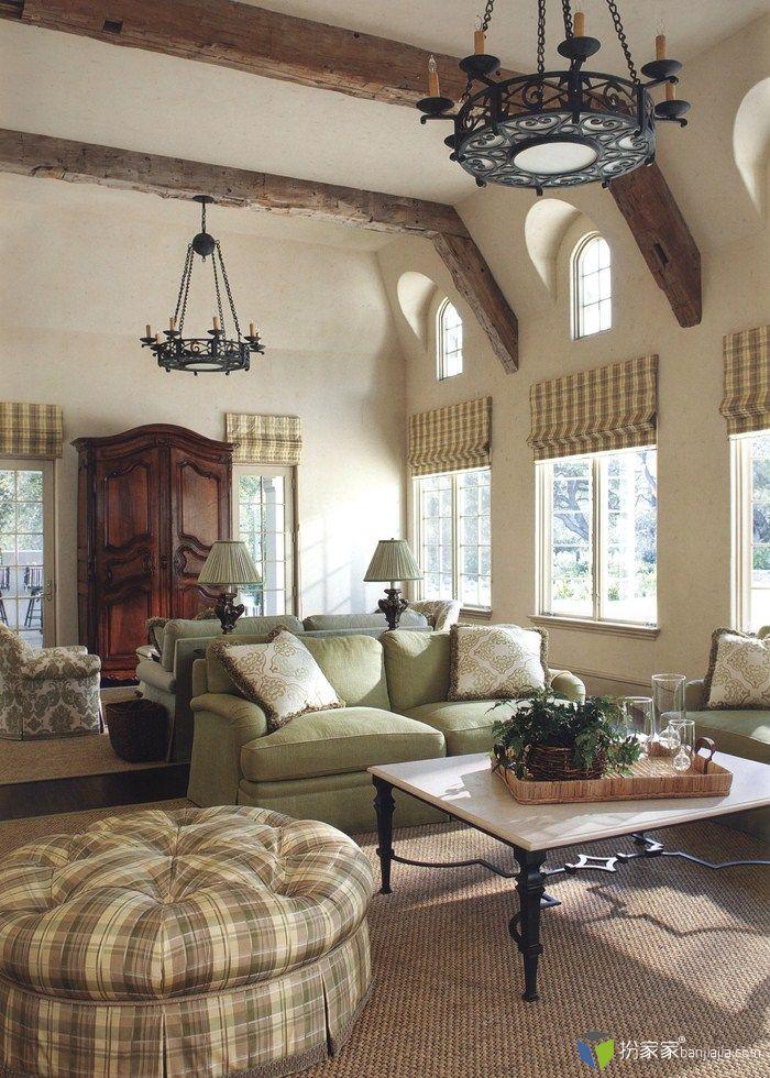 法国意大利风格装饰 - 扮家家室内设计网
