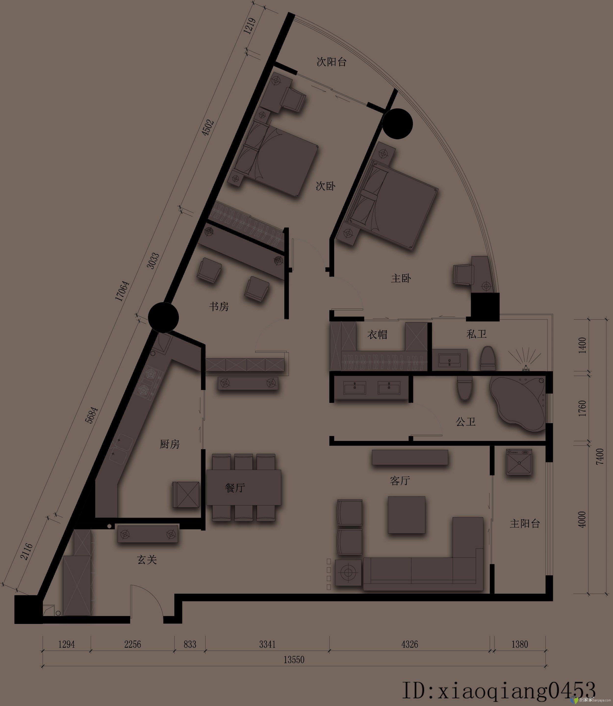 【投票】【第四期 住宅平面优化】 产品设计师住宅