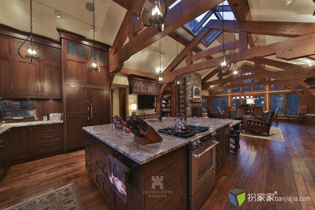 欧美顶级别墅设计巡礼•美式乡村 - 扮家家室内