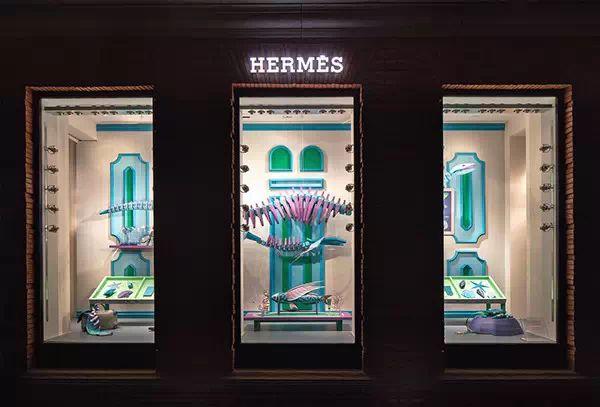 hermes未来博物馆概念橱窗设计