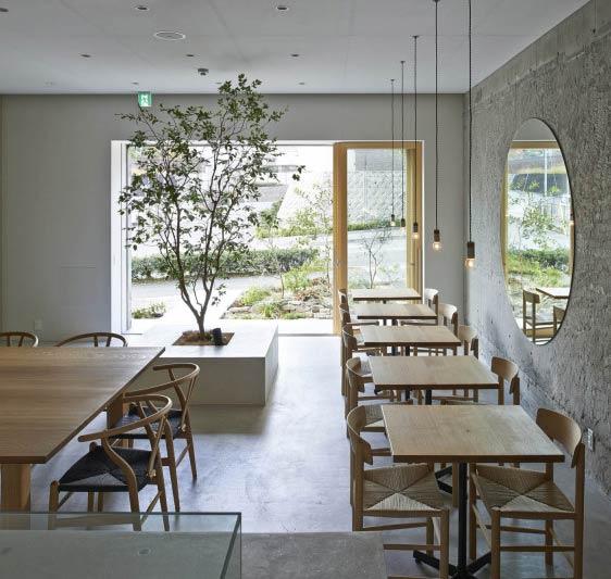 大阪极简风格咖啡屋-室内设计师平台 -室内设计论坛