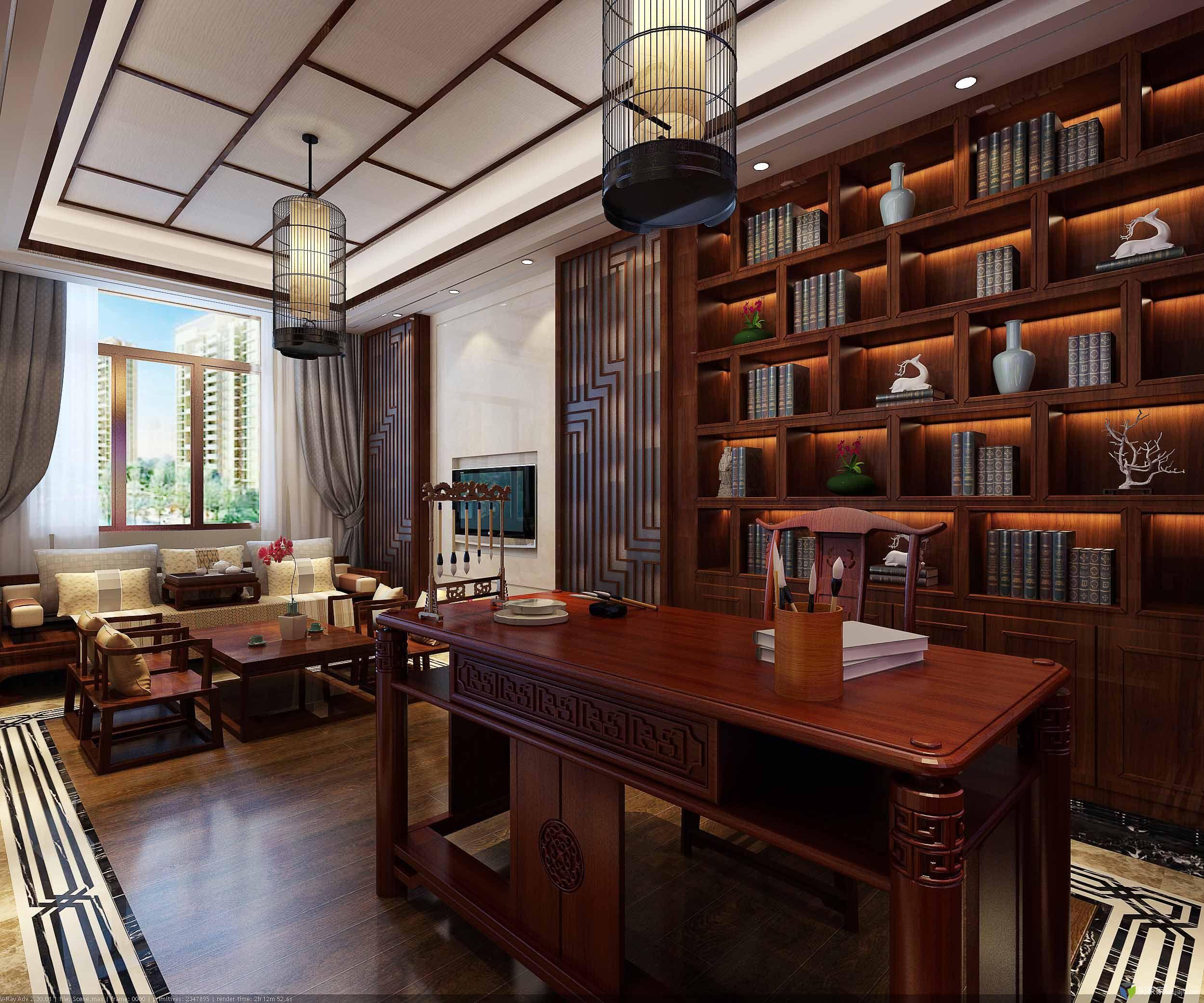 最近做的中式风格.求交流. - 扮家家室内设计网