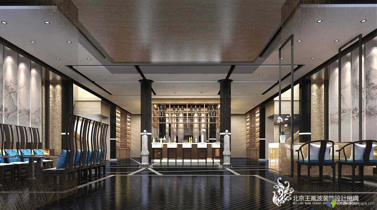 柳巷烤鸭店:古典与现代的碰撞 王凤波设计机构 餐饮设计