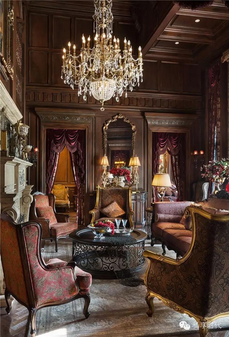 顶级别墅设计案例赏析-英式别墅 - 扮家家室内设计网