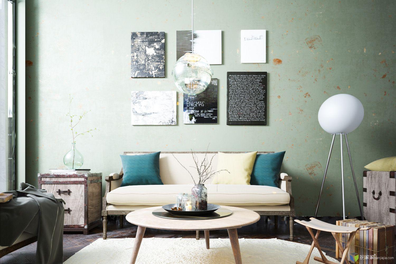 橄榄绿--破房子 - 扮家家室内设计网
