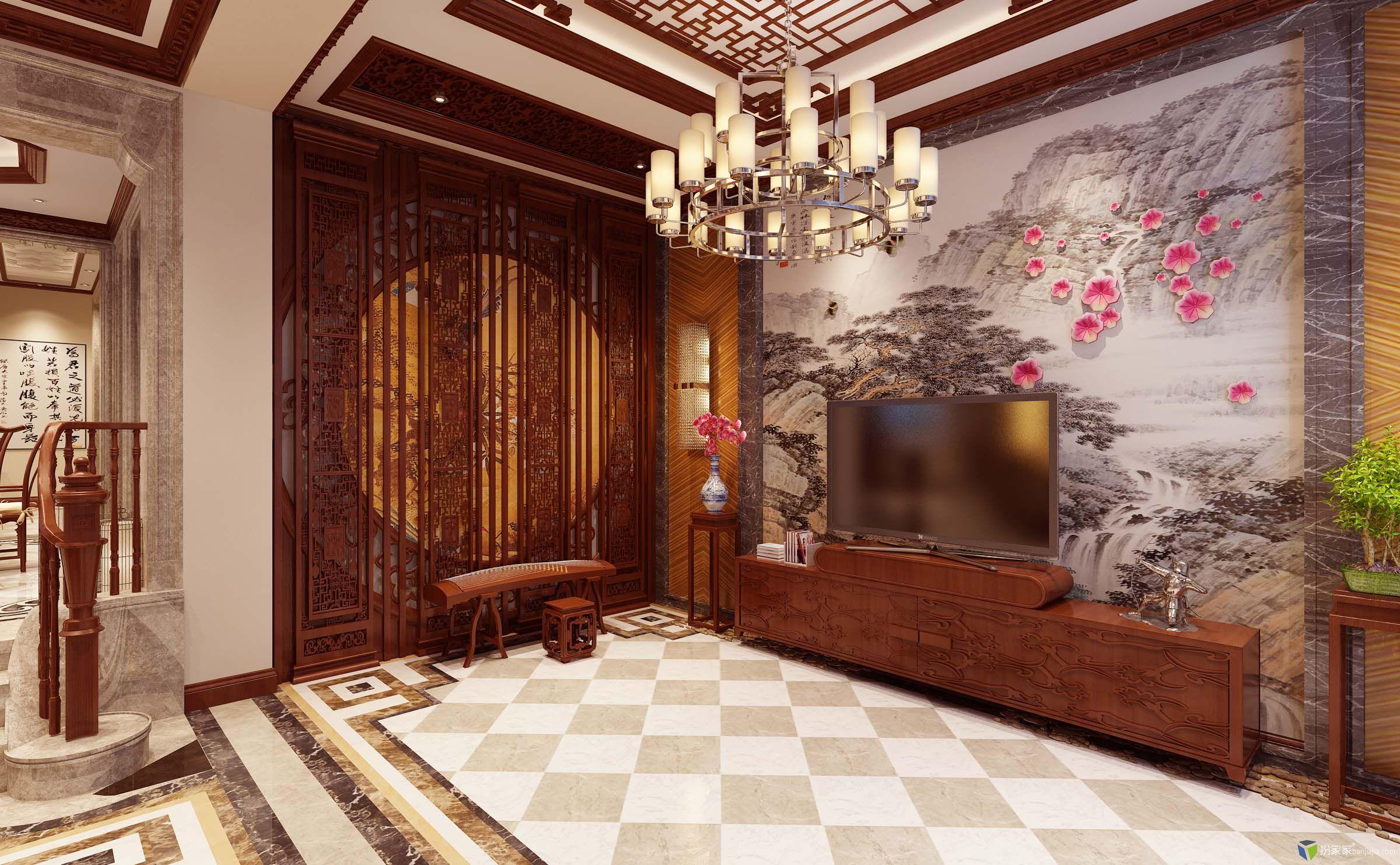 中国风 - 扮家家室内设计网
