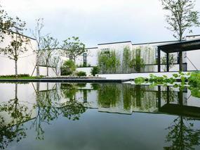 【墅创】新中式院落景观,最美!