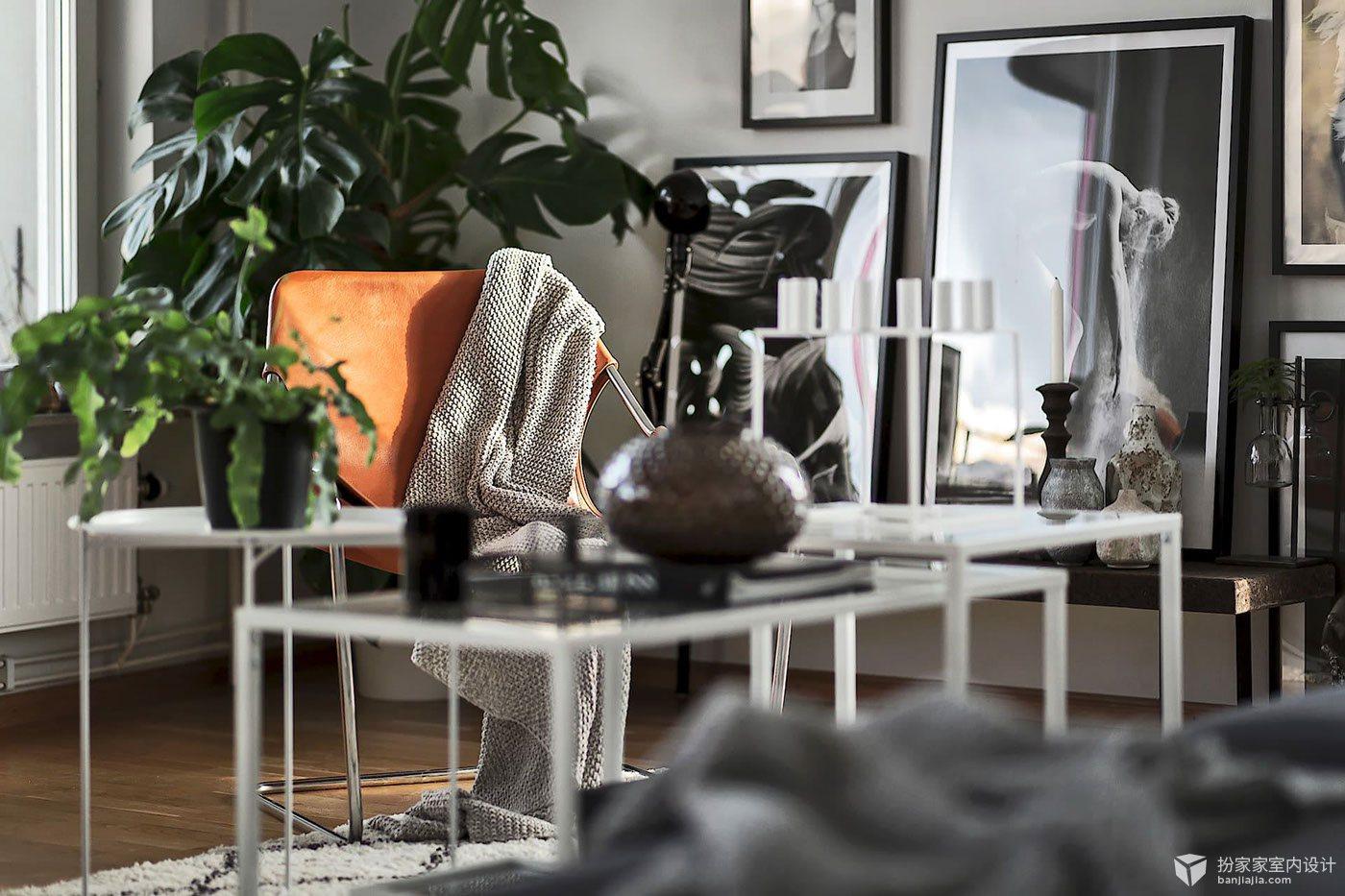 芽庄:绿植与北欧风情 - 扮家家室内设计网