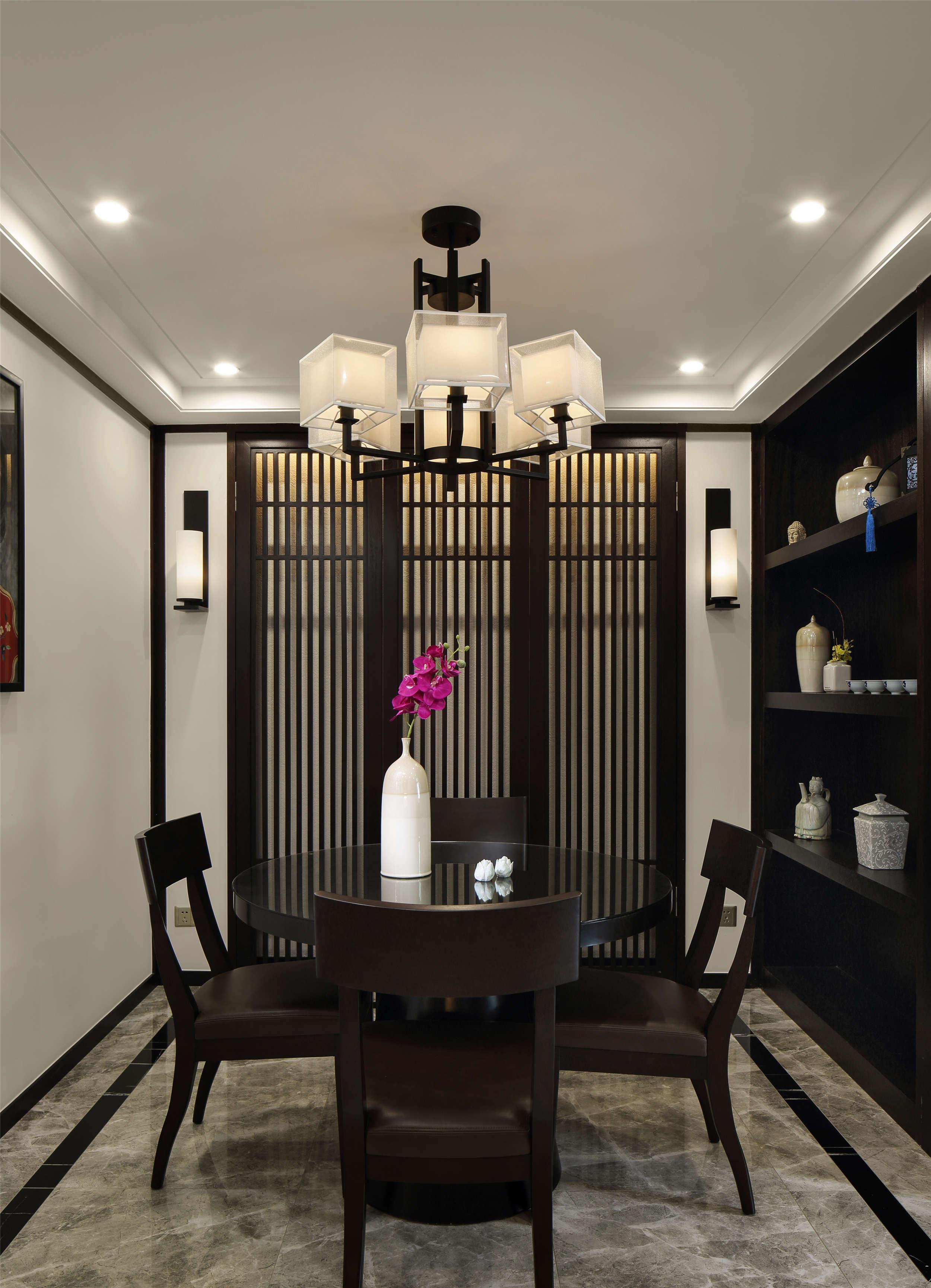 【本末设计】金山别墅-新中式风格 - 扮家家室内设计网