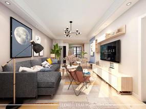 现代简约3居室