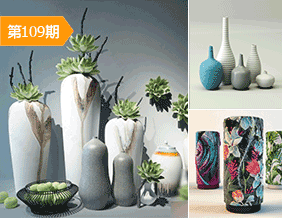 陶瓷花瓶陈设品模型合辑15套