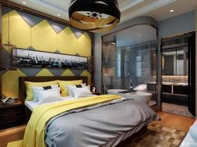 【3D效果图点评第5期】现代卧室