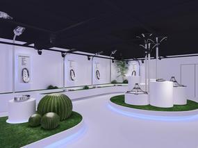 万晟科技展厅|空舍设计