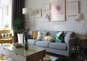 北欧风格丨龙华名苑108平方住宅装修设计