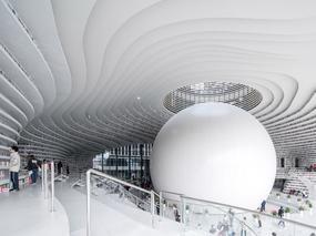 天津滨海图书馆-滨海之眼
