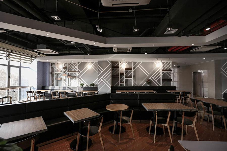西安中铁一局餐厅 | 金枫荣誉设计