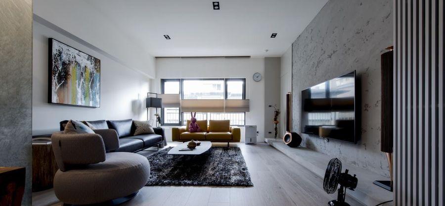 将作设计   现代风住宅装修设计