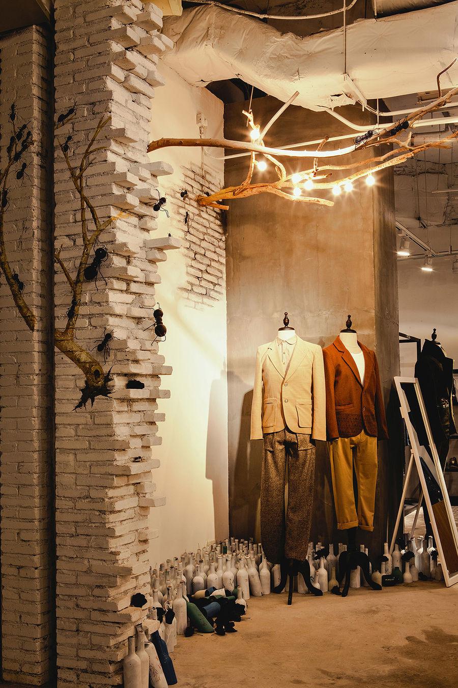 The Fashion Door 概念店 丨 绽放设计