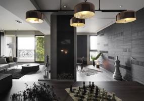 一水一木设计 | 35坪现代住宅装修设计表现
