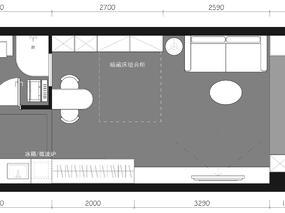 #户型优化#单身公寓