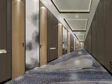 走廊设计效果-孟红光