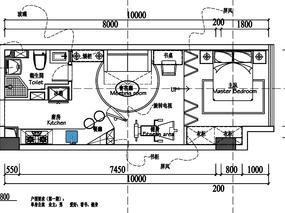 #户型优化#单身公寓户型平面优化