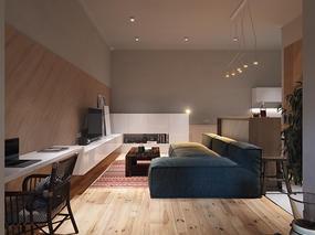 【国外作品】绿色公寓装修设计