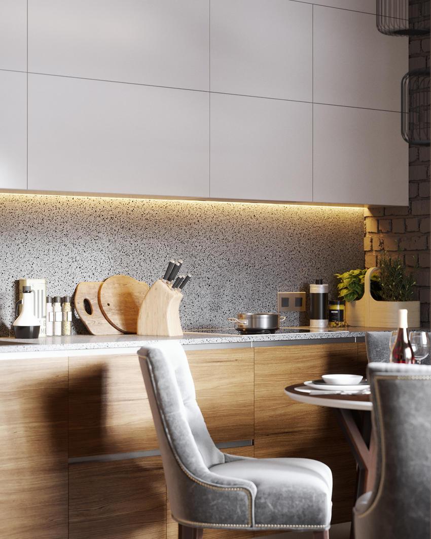 国外项目设计公寓70平方米