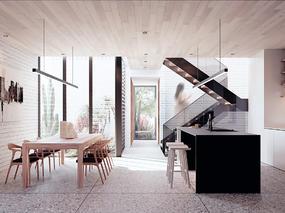 【国外作品】复式住宅设计表现