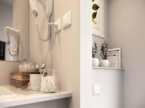 3dmax效果图小浴室