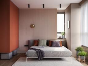 【国外作品】70平米公寓装修设计