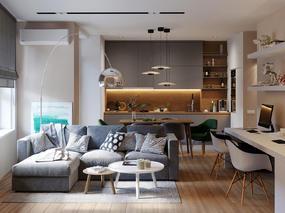 【国外作品】现代公寓