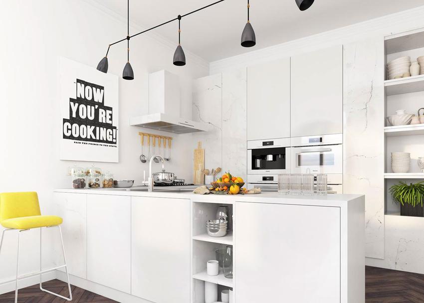 国外现代厨房设计效果图