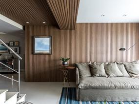 国外热带公寓胡桃木建筑设计