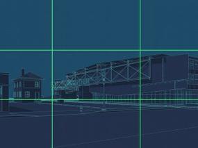 效果图中如何设置相机的高度与透视