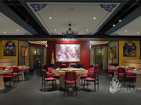 主题餐厅设计-斯琴阿妈蒙餐厅