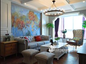 北京家装设计实景图,水岸双桥项目
