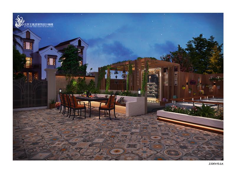 欧式田园风格别墅设计