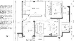 【户型优化第6期】152平一家六口,两厅四房,一厨两卫