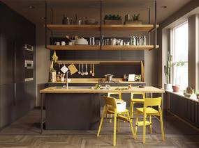 人气设计师aTng糖作品:一间厨房