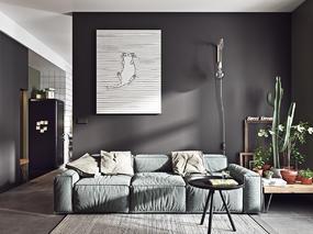 Behance人气设计师作品:Mini公寓