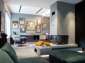 现代简约 | 黑色公寓