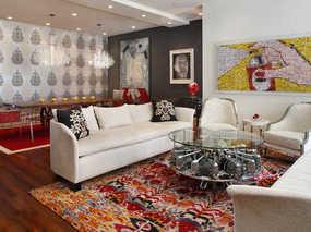 室内软装设计时地毯的挑选及搭配技巧
