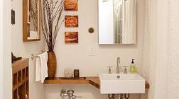 简单几招教你搞定小户型洗手间装修
