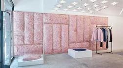 粉红云朵墙